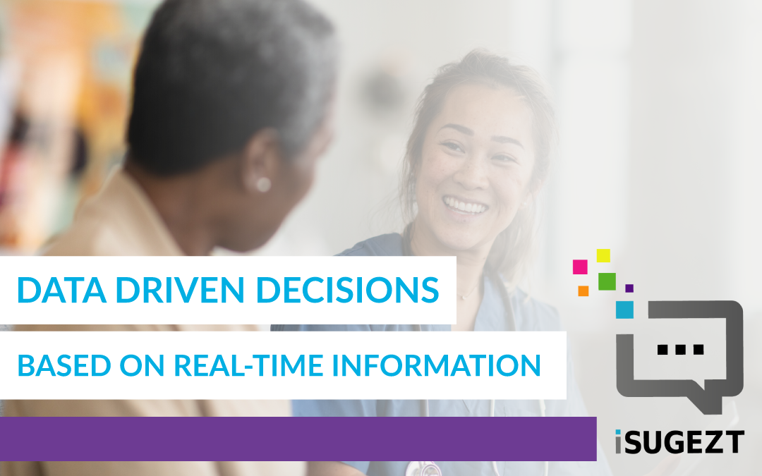 Data Driven Decisions Based On Real-Time Information